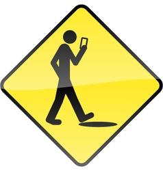 Smart Phone Stupid Human vector