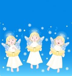 christmas carols vector image