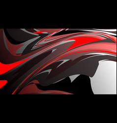 abstract colorful background with red style wave vector image