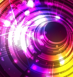 Abstract Lines with Light Colorful Background vector