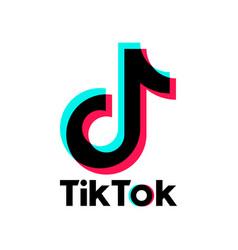 astana kazakhstan -15 july 2020 tik tok icon tik vector image
