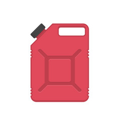 gasoline canister vector image