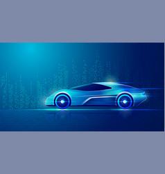 smartcar vector image