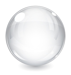White sphere vector