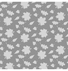Background with leaves Endless seamless pattern vector image