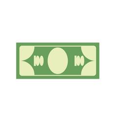 cash sign dollar symbol money emblem financial vector image vector image