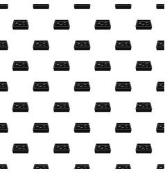 cat toilet pattern vector image vector image