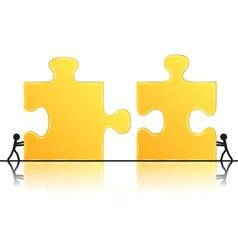 teamwork concept vector image vector image