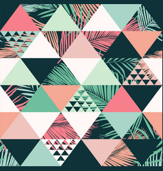 abstract trendy seamless pattern vector image vector image