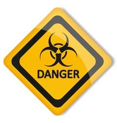 label biohazard vector image