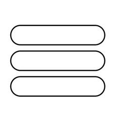 List black color icon vector