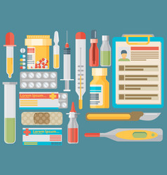 medical concept flat design vector image