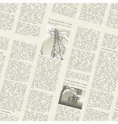 Newspaper seamless vector