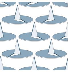 Thumbtack seamless pattern vector
