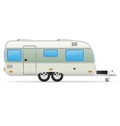 Trailer caravan 02 vector