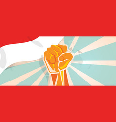 indonesia indonesian fight and protest vector image vector image