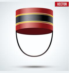 Bellboy hat vector