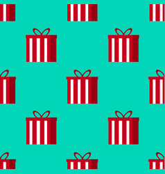 christmas gifts seamless pattern - great for vector image