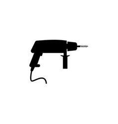 drill icon elements of constraction icon premium vector image