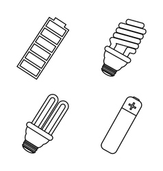 Electric equipment and supplies vector