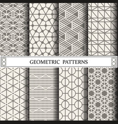 Geometric patternpattern fills web page vector