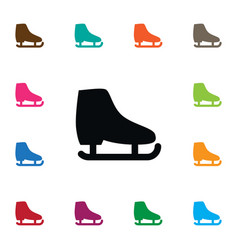 isolated skid icon freeze element can be vector image