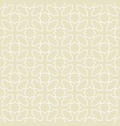 seamless pattern or islamic background vector image