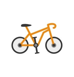 Sport race bicycle vector