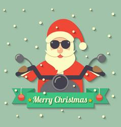 Christmas Santa Claus background vector image vector image