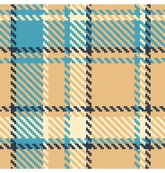 seamless checkered color pattern vector image vector image