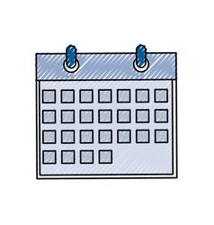 calendar date syymbol vector image vector image