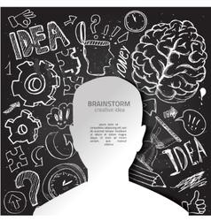 social network communication vector image