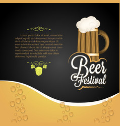 beer festival vector image