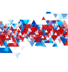 abstract bright tech geometric low poly vector image