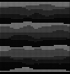 abstract seamless wavy halftone pattern vector image
