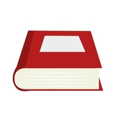 Book literature education read isolated vector