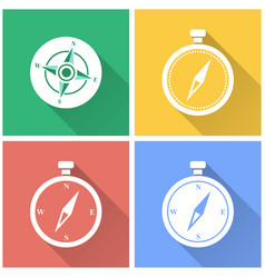 Compass - icon vector