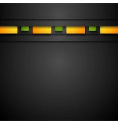 Abstract dark corporate background vector