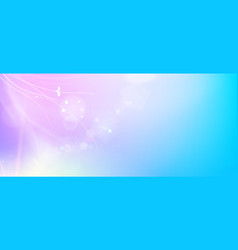 abstract smooth blue lines and shining purple flow vector image