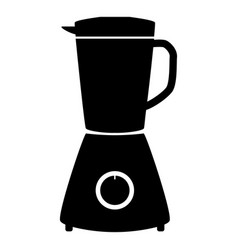 Blender the black color icon vector