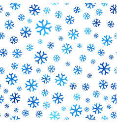 boundless background of snowflakes vector image