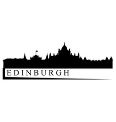 Edinburgh skyline vector