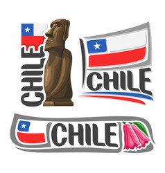 Logo for chile vector