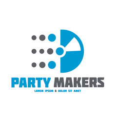 Music logo icon vector