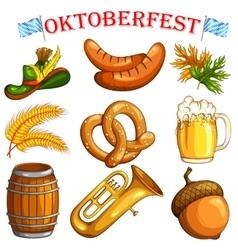 Oktoberfest design object vector