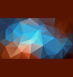 retro color triangle background wallpaper vector image