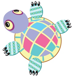 Turtle soft toy vector
