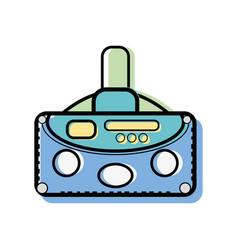3d eyeglasses to virtual game entertainment vector