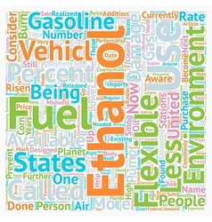 Why Should I Use E Ethanol text background vector image vector image