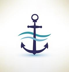 anchor symbol vector image vector image